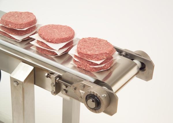 Maintenir la sécurité alimentaire avec des tapis roulants en acier inoxydable